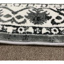 A RUG | FLORA 2808A L.GREY / L.GREY | Quality Rugs and Furniture
