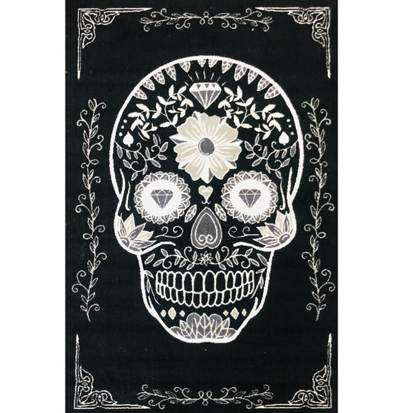 A RUG | SUGAR SKULL SINGLE | Quality Rugs and Furniture