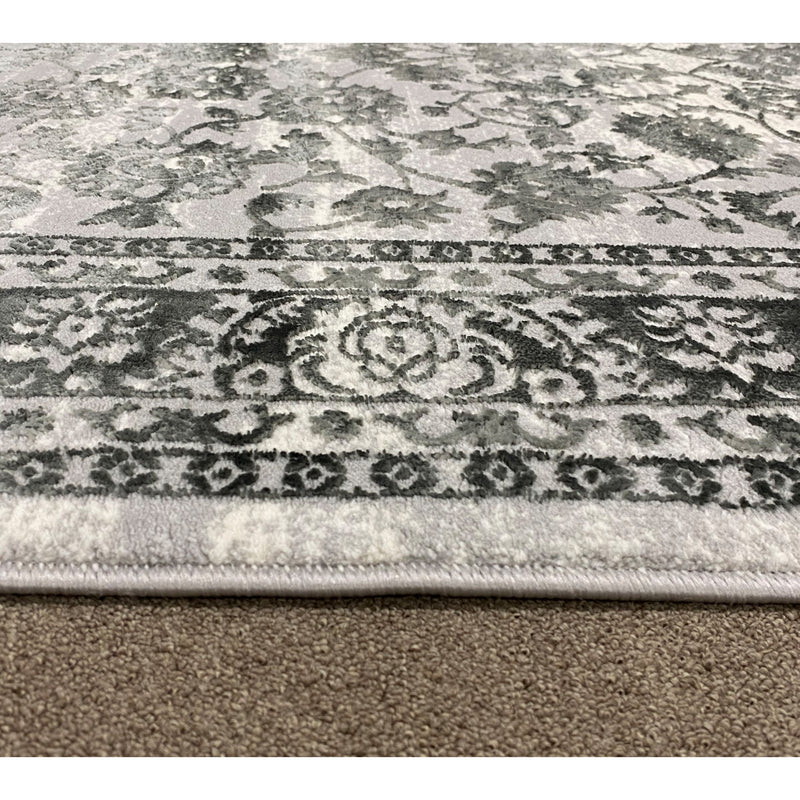 A RUG | FLORA 2994A L.GREY / L.GREY | Quality Rugs and Furniture