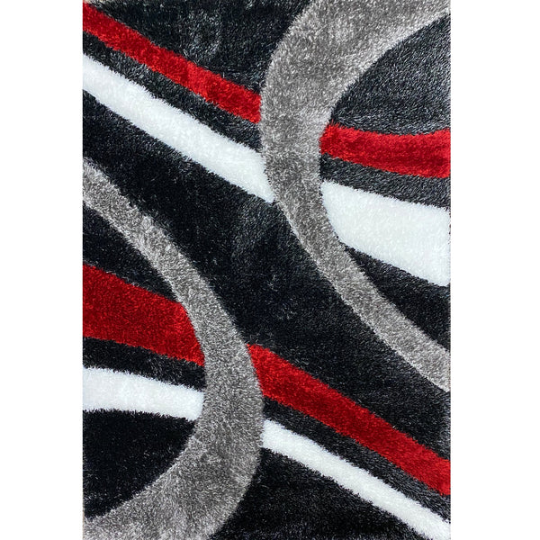 A RUG | FASHION SHAGGY B105 BLACK | Quality Rugs and Furniture