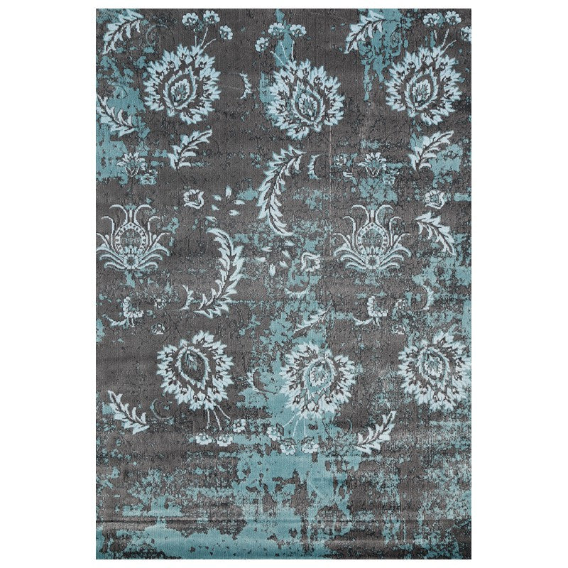 A RUG | AQUA SILK 4060 GREY | Quality Rugs and Furniture