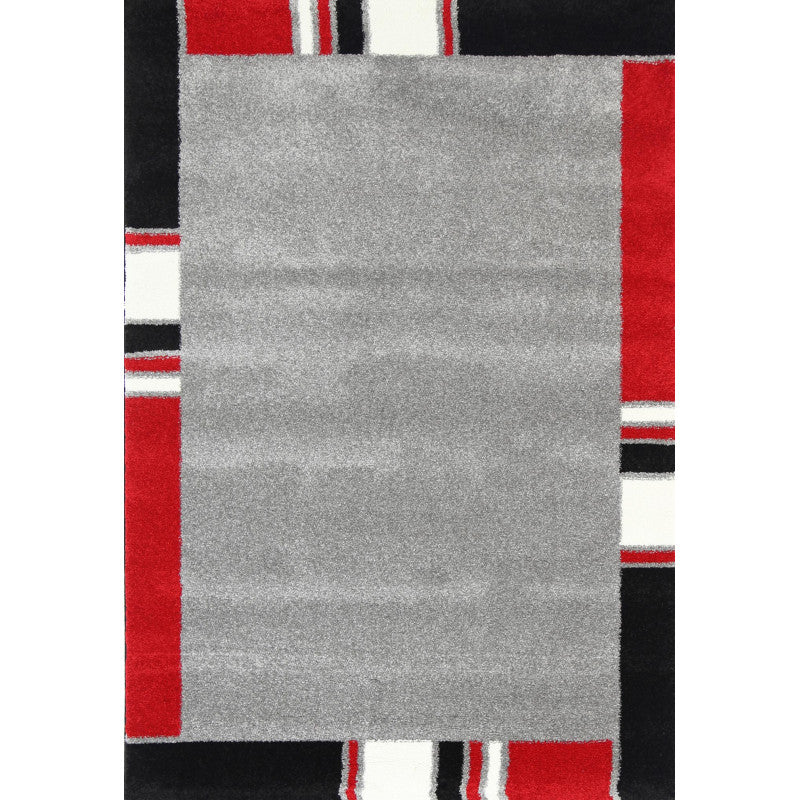 A RUG | MODERN RUG 824 RED | Quality Rugs and Furniture