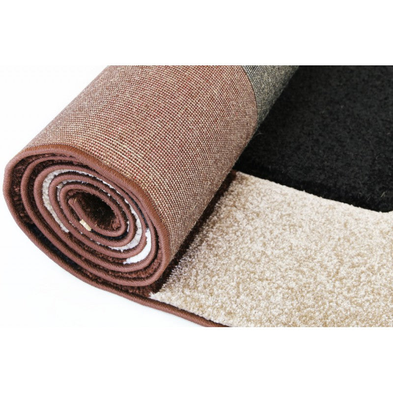 A RUG | DIAMOND 8331 BLACK/BROWN | Quality Rugs and Furniture