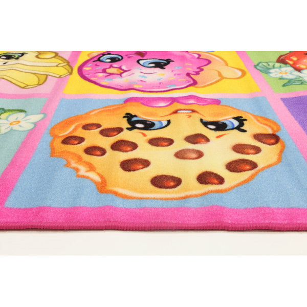 A KIDS MAT | SHOPKINS COLLAGE | Quality Rugs and Furniture