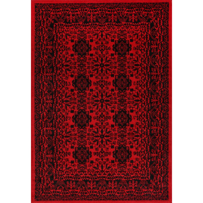 A RUG | TRIBE 18678 RED | Quality Rugs and Furniture