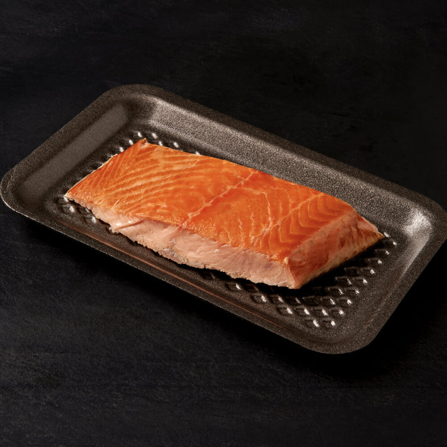 1 Portion of Goldstein's Hot Smoked Salmon (approx 180g)
