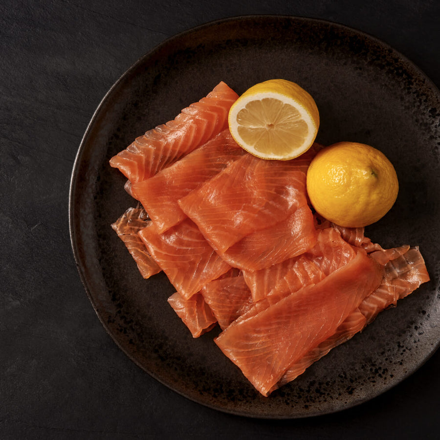 Finest Quality Goldstein Smoked Salmon (various weights) - KOSHER FOR PASSOVER