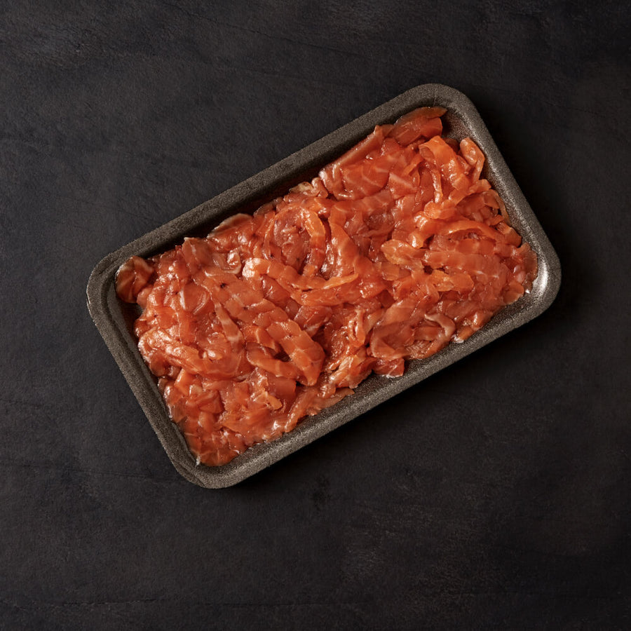 Goldstein's Smoked Salmon Trimmings (200g) - KOSHER FOR PASSOVER