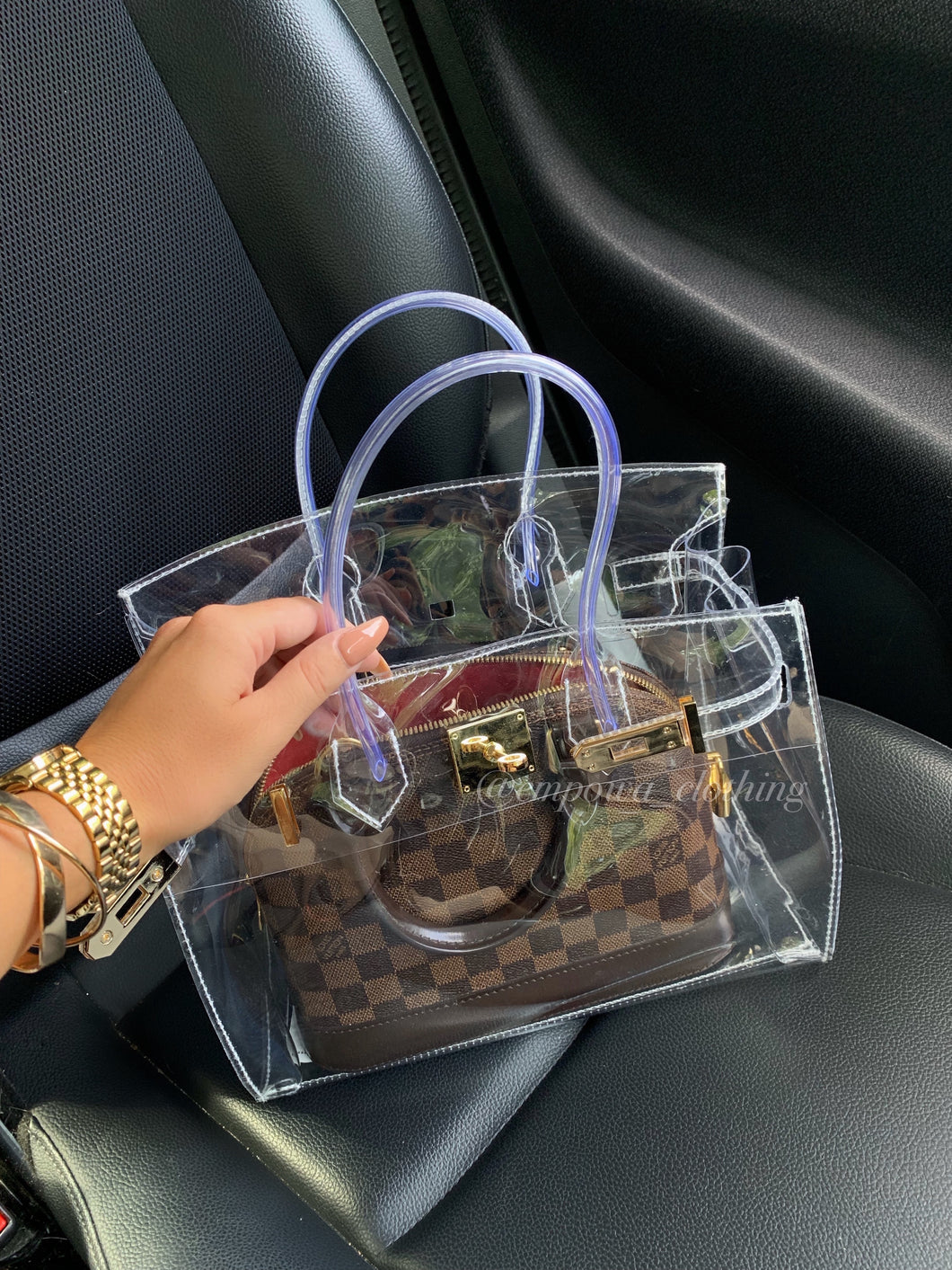 MIA TRANSPARENT BAG