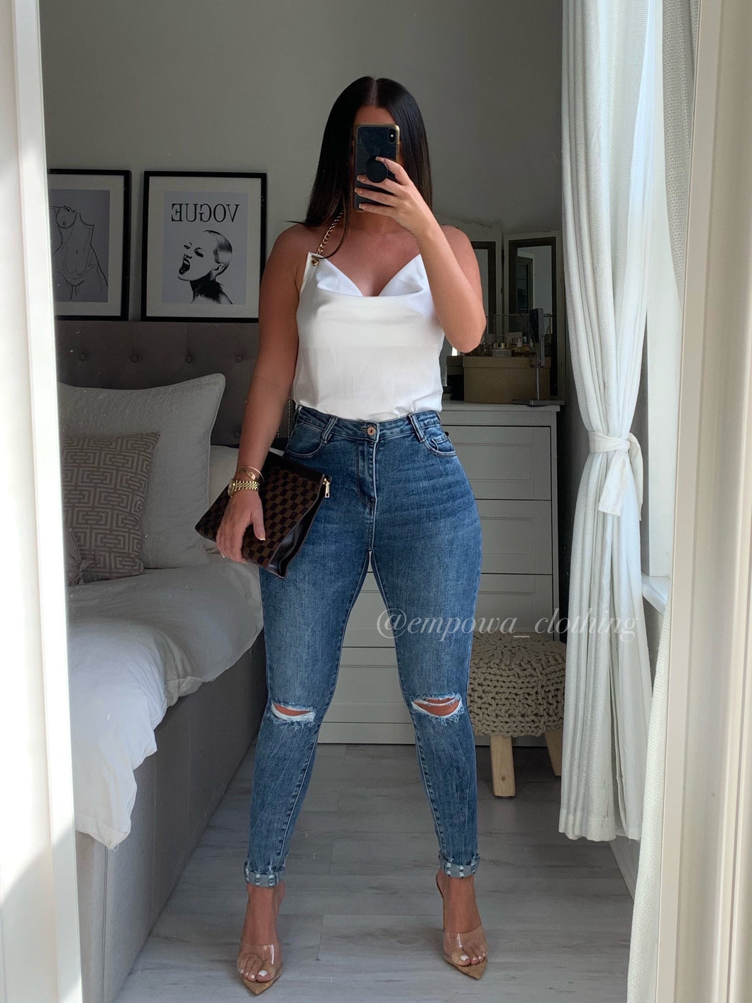 VERITY HIGH WAISTED JEANS