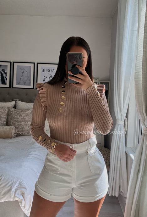 ALISSA RIBBED JUMPER