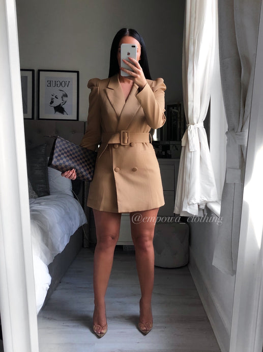 COCO LUX BLAZER DRESS