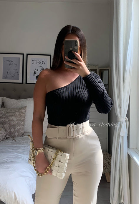 FRENCHIE RIBBED TOP