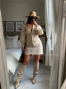 ASHLEY SHIRT DRESS