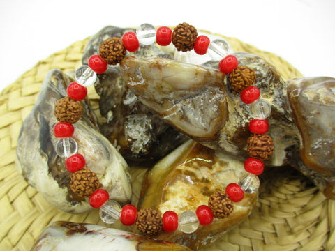 Natural Elements Bracelet, size Medium (stretch)
