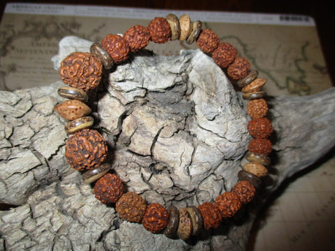 Natural Elements Bracelet, size Large (stretch)