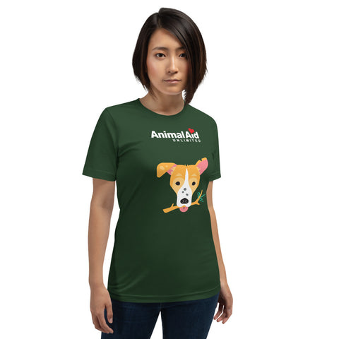 Short-Sleeve Unisex Dog T-Shirt