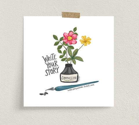 Write Your Story- Fine Art Prints