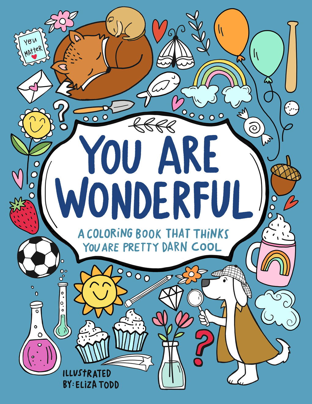 You Are Wonderful Coloring Book - Digital Download