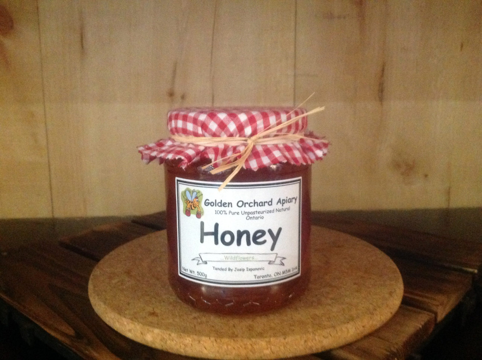 Golden Orchard Apiary Honey
