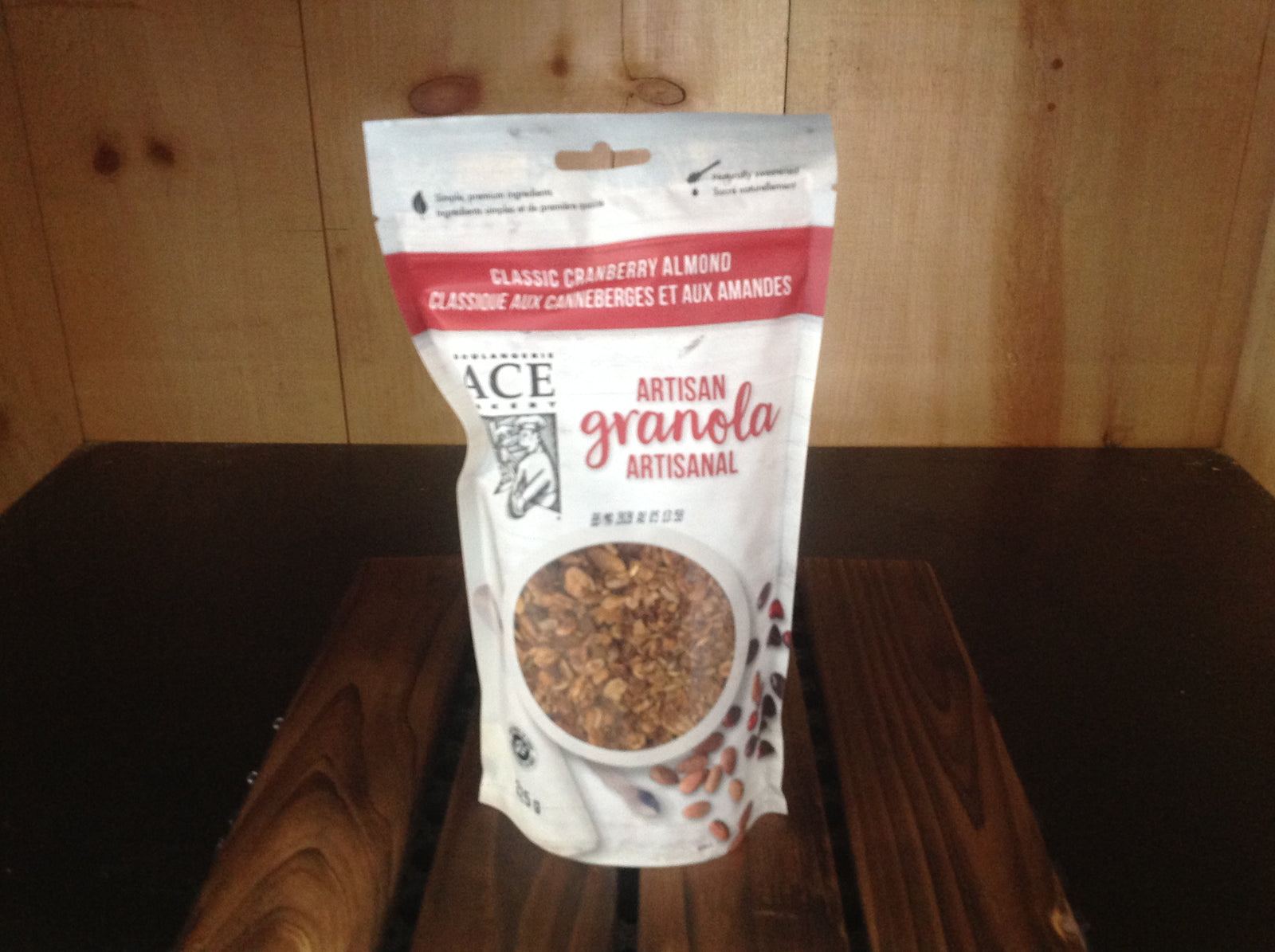 Ace Cranberry Almond Granola