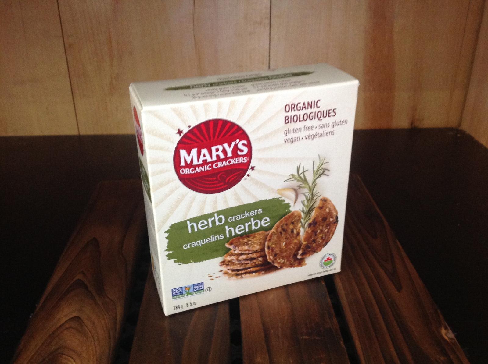 Mary's Herb Crackers