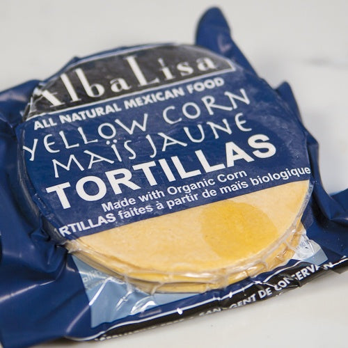 Alba Lisa Yellow Corn Tortillas