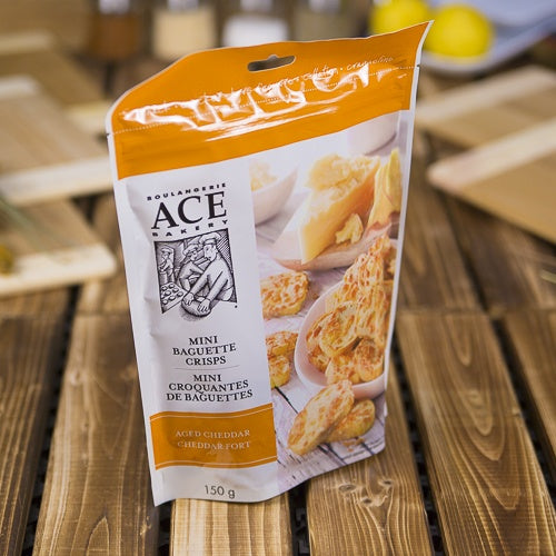 Ace Bakery Aged Cheddar Mini Crisps
