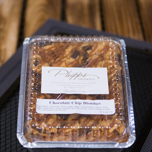 Phipps Chocolate Chip Blondies