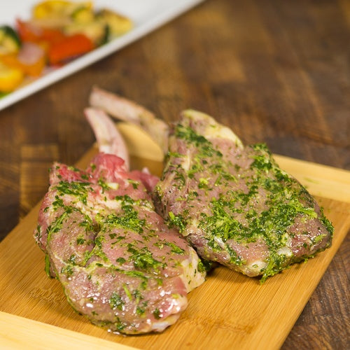 Marinated Provimi Veal Chops