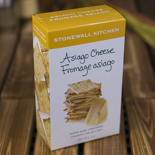 Stonewall Asiago Cheese Crackers