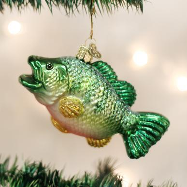 Largemouth Bass Ornament On Tree