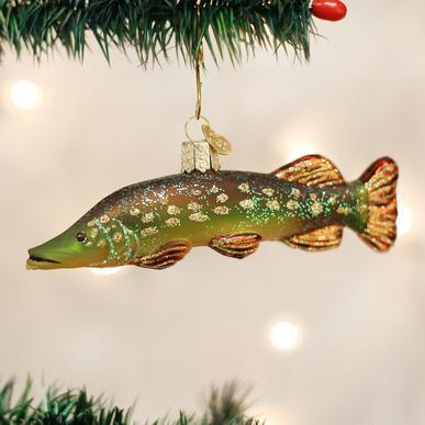 Pike Ornament on Tree