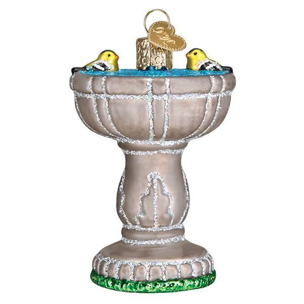Bird Bath Ornament