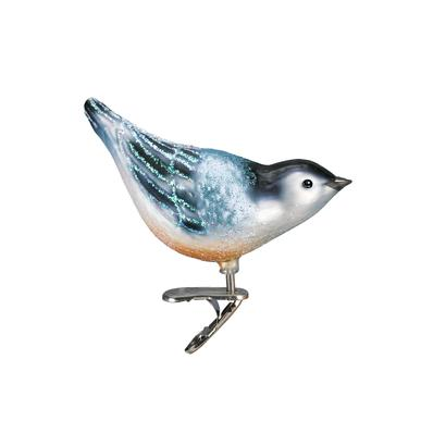 Nuthatch Ornament Right Side View