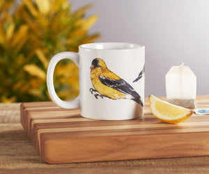 Gold Finch Mug - 16oz