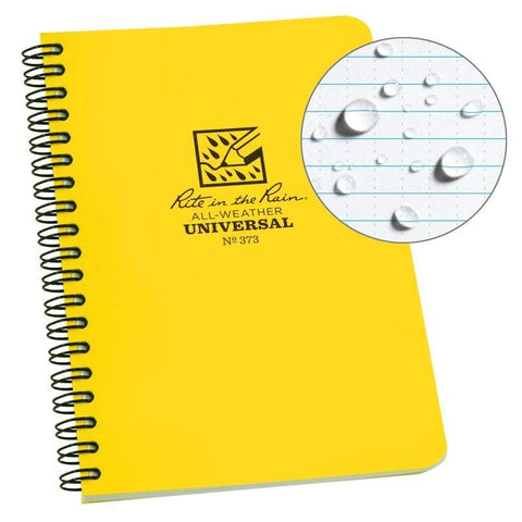 Rite in the Rain Spiral Notebook - Yellow