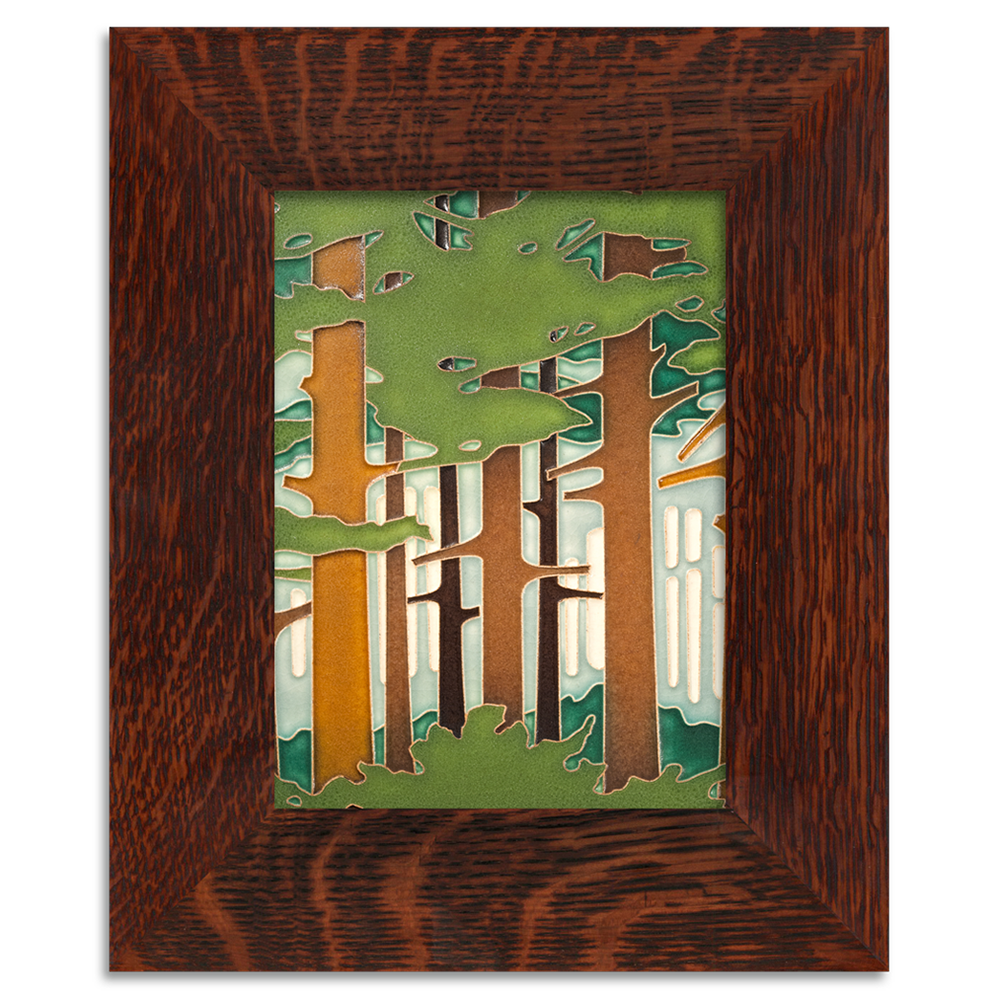 Motawi Spring woodland with frame