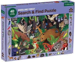 Woodland Forest Search and Find Puzzle