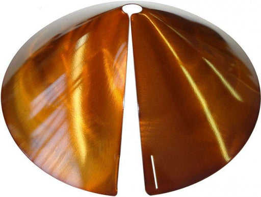squirrel baffle/squirrel guard - copper tint