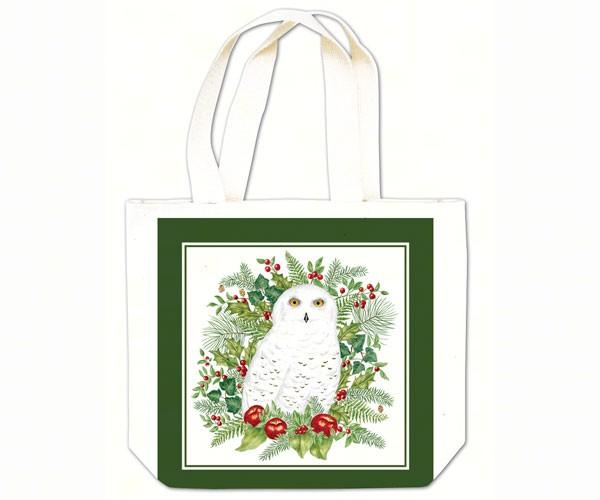 Snowy Owl Gift Tote