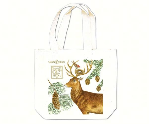 Holiday Deer Gift Tote