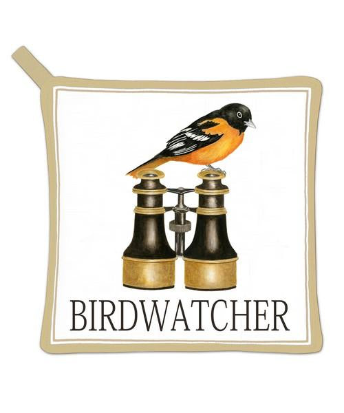 Birdwatcher Potholder
