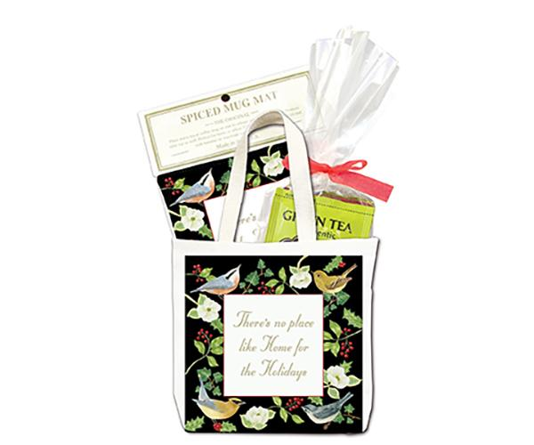 Home for the Holidays Tea Tote