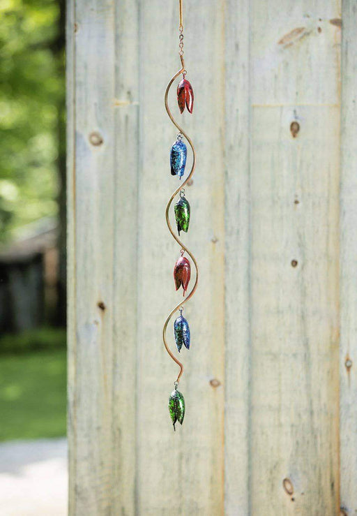 Bell Spiral Multicolor Hanging Wind Chime
