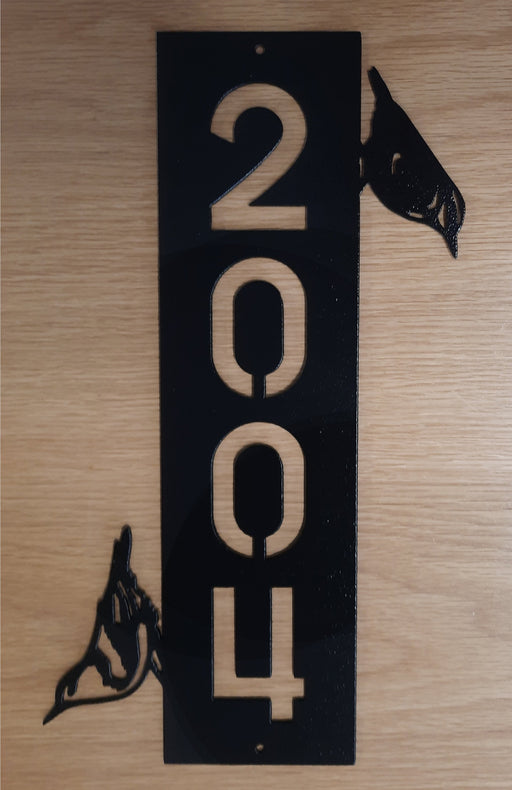 nuthatch address sign