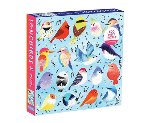 Songbirds 500 Piece Family Puzzle