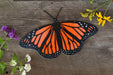double layer small monarch metal art