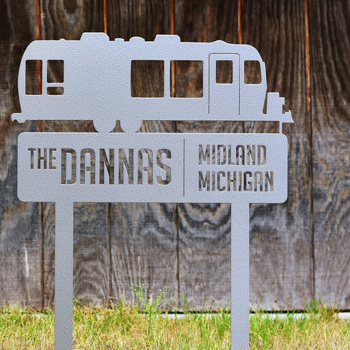 custom airstream sign