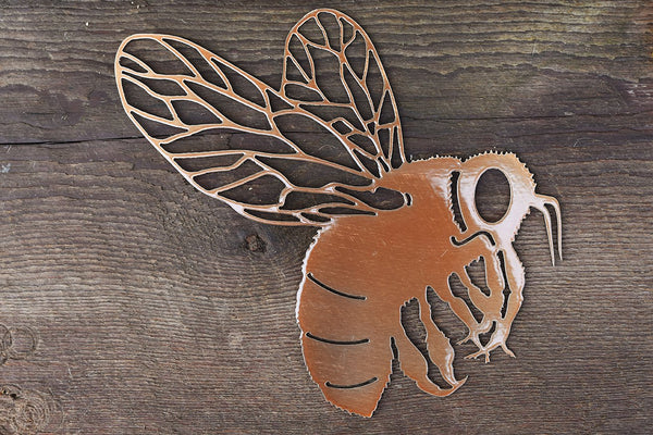 Copper Bumble Bee Wall Art